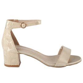 Sandale dama satinate HD-125-GOLD, Marime: 37, imagine
