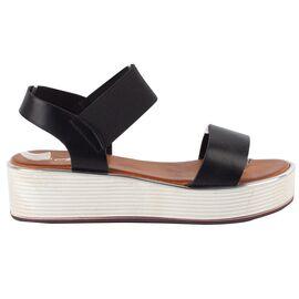 Sandale dama comode negre TS-17-BLACK, Marime: 38, imagine