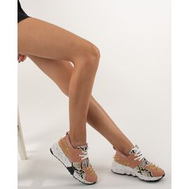 Pantofi sport de dama cu tinte VIVI015-PINK, Marime: 39, imagine