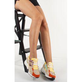 Pantofi sport de dama cu tinte VIVI015-YELLOW, Marime: 40, imagine