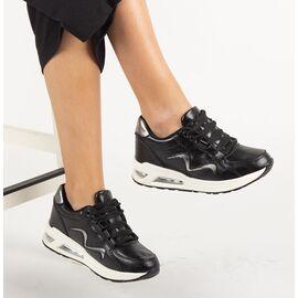 Pantofi de dama sport casual LB-692-BLACK, Marime: 37, imagine