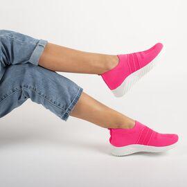 Sneakers dama din material elastic NB331-7-F.PEACH, Marime: 38, imagine