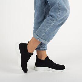 Sneakers dama din material elastic DS8829-1-BLACK, Marime: 40, imagine