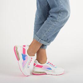 Pantofi de dama sport casual F-3336-WHITE-FUCSIA, Marime: 38, imagine