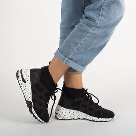 Pantofi sport de dama CB-19123-BLACK, Marime: 37, imagine