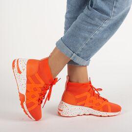 Pantofi sport de dama CB-19123-ORANGE, Marime: 38, imagine