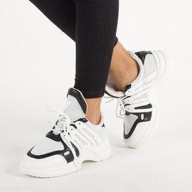 Pantofi de dama sport cu talpa groasa ZH-10-A, Marime: 40, imagine