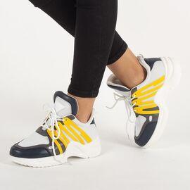 Pantofi dama sport cu talpa groasa ZH-10-W/Y, Marime: 40, imagine