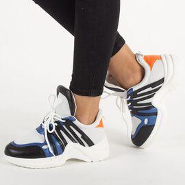 Pantofi de dama sport ZH-10-W/B, Marime: 39, imagine