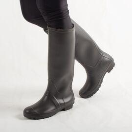 Cizme de dama din cauciuc, gri, perfecte pentru ploaie H084-GRIS, Marime: 37, imagine