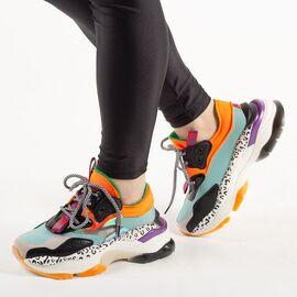 Pantofi de dama sport casual 2019-2-BLUE, Marime: 36*, imagine