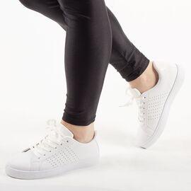 Pantofi de dama sport casual BK933-9-WHITE, Marime: 36, imagine