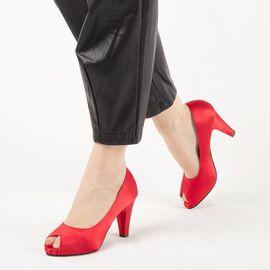 Pantofi de dama eleganti A3372-RED, Marime: 41, imagine