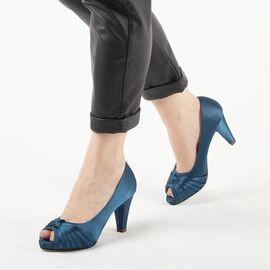 Pantofi de dama eleganti A3376-BLUE, Marime: 39, imagine