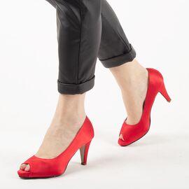 Pantofi de dama eleganti A794-RED, Marime: 38, imagine