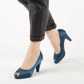 Pantofi de dama eleganti A3372-BLUE, Marime: 39, imagine