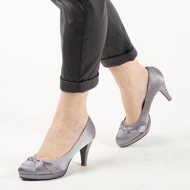 Pantofi de dama eleganti A1125-GRAY, Marime: 38, imagine
