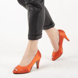 Pantofi de dama eleganti A794-ORANGE, Marime: 39, imagine