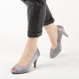 Pantofi de dama eleganti A794-GRAY, Marime: 41, imagine