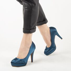 Pantofi de dama eleganti A01-6-BLUE, Marime: 36, imagine