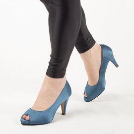 Pantofi de dama eleganti A794-BLUE, Marime: 41, imagine