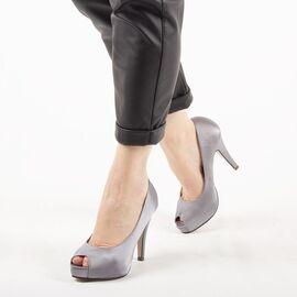 Pantofi de dama eleganti A1265-GRAY, Marime: 39, imagine