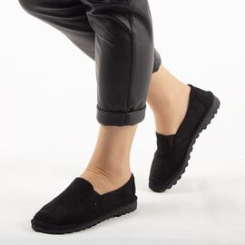 Espadrile negre de dama 216ALL-BLACK, Marime: 36, imagine