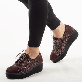 Pantofi dama casual maro K1807606-M, Marime: 41, imagine