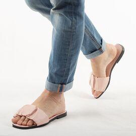 Papuci de dama, roz cu talpa joasa PP003-ROZ, Marime: 36, imagine
