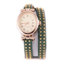 Ceas dama cu bratara verde C11-0104
