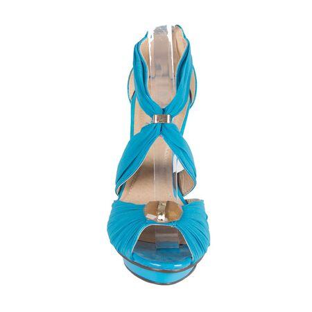 Sandale dama cu toc inalt aurii 7W1688-10A-G la 49,00Lei