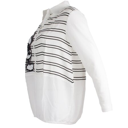 Bluza dama cu paiete aplicate GB-408-A-O