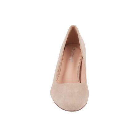 Pantofi dama bej cu toc mediu B9897-2BEJ, Marime: 36, imagine _ab__is.image_number.default