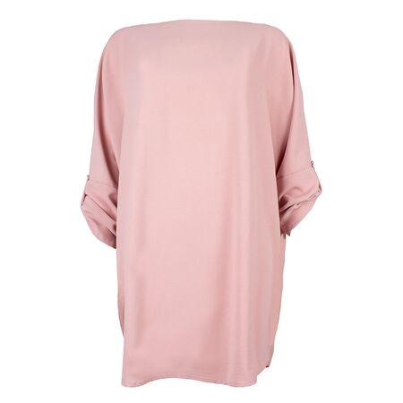 Rochie dama oversize roz 8876-R, imagine