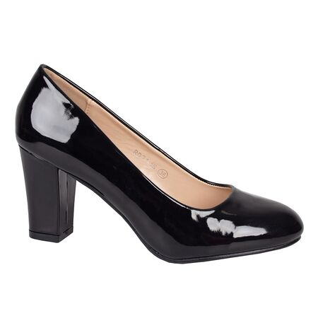 Pantofi dama cu toc negri RD21-1S-N, Marime: 35, imagine