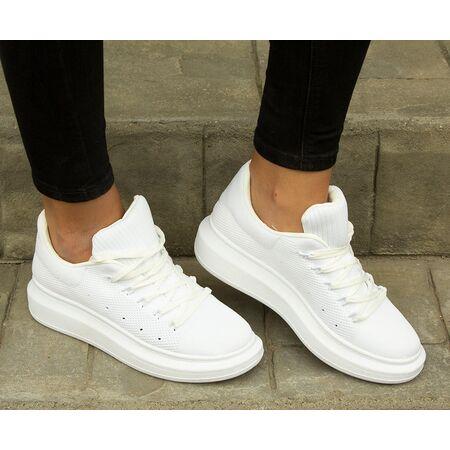 Pantofi de dama sport casual GG510-WHITE, Marime: 38, imagine _ab__is.image_number.default