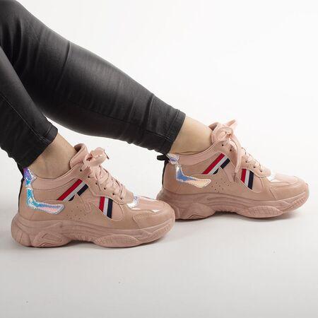 Pantofi de dama sport casual NB301-5-PINK, Marime: 40, imagine