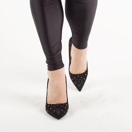Pantofi de dama accesorizati cu strasuri DF3587-BLACK, Marime: 36*, imagine _ab__is.image_number.default