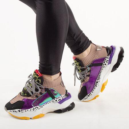 Pantofi de dama sport casual G-303-KHAKI, Marime: 36*, imagine