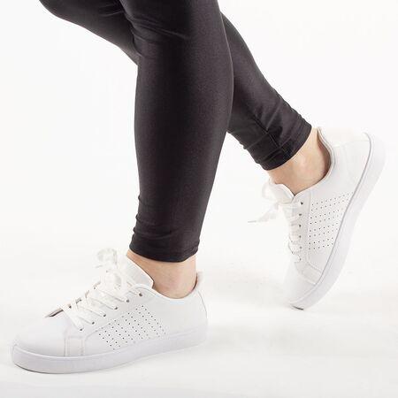 Pantofi de dama sport casual BK933-9-WHITE, Marime: 37, imagine