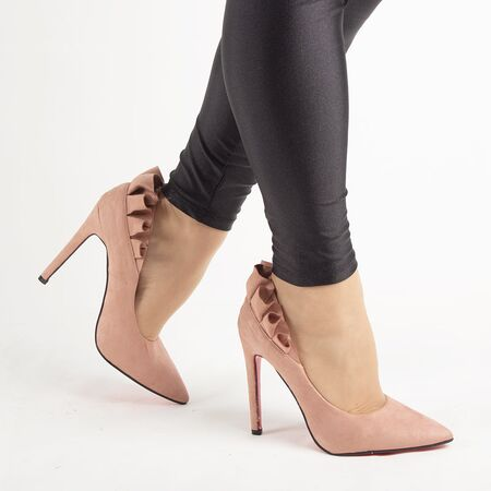 Pantofi de dama, roz, eleganti cu toc inalt JM8128Y-ROSA, Marime: 35*, imagine _ab__is.image_number.default