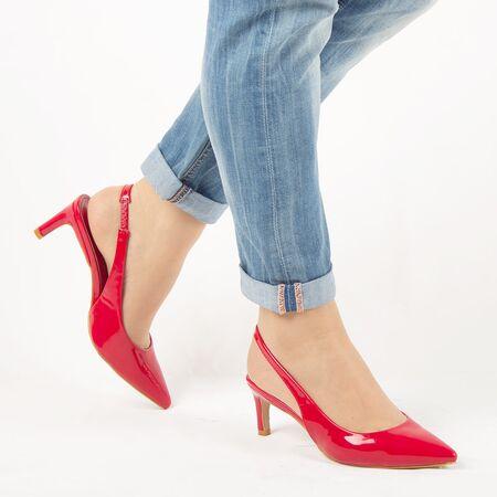 Sandale de dama, rosii, lacuite, cu toc mediu HD-178-RED, Marime: 35, imagine _ab__is.image_number.default