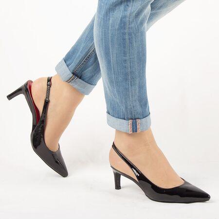 Sandale de dama, negre, lacuite, cu toc mediu HD-178-BLACK, Marime: 35, imagine _ab__is.image_number.default