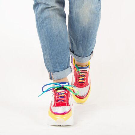 Pantofi de dama, sport - casual, cu siret 20108AM-AMARILLO, Marime: 36, imagine _ab__is.image_number.default