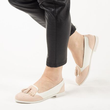 Pantofi de dama, cu talpa joasa si comoda AB631-PINK, Marime: 36*, imagine