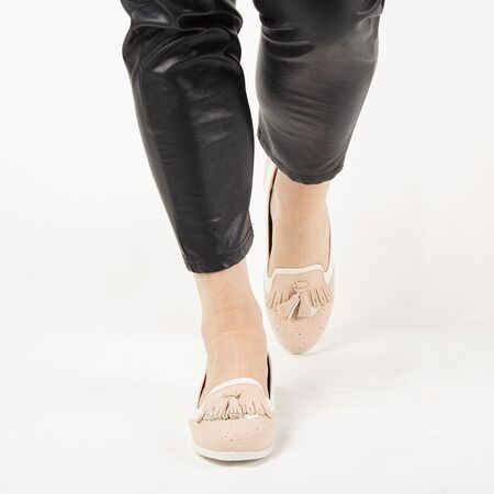 Pantofi de dama, cu talpa joasa si comoda AB631-PINK, Marime: 36*, imagine _ab__is.image_number.default
