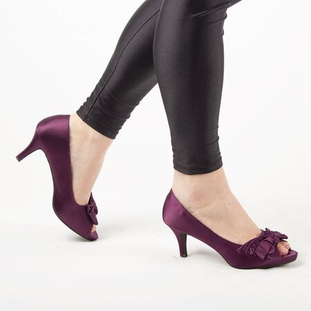 Pantofi de dama cu fundita A2191PURPLE, Marime: 40, imagine _ab__is.image_number.default