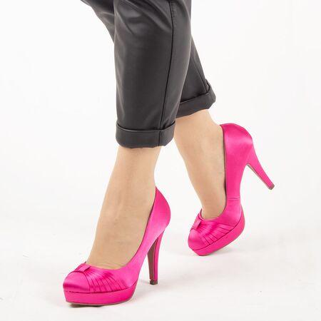 Pantofi de dama eleganti A01-6-FUCHSIA, Marime: 38, imagine