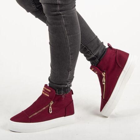 Sneakers dama, din material textil K8608-VISINIU, Marime: 36, imagine